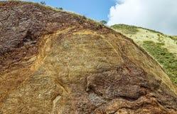 Χρυσό σημείο οχυρών κόλπων πυλών πεταλοειδές άνωθεν στοκ φωτογραφίες με δικαίωμα ελεύθερης χρήσης