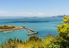 Χρυσό σημείο οχυρών κόλπων πυλών πεταλοειδές άνωθεν στοκ εικόνα με δικαίωμα ελεύθερης χρήσης