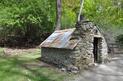 Χρυσό σπίτι ανθρακωρύχων στοκ φωτογραφίες με δικαίωμα ελεύθερης χρήσης