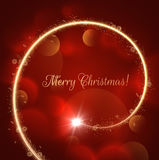 Χρυσό σπειροειδές υπόβαθρο Χριστουγέννων eps10 να γεμίσει προτύπων λουλουδιών πορτοκαλιά rac ric ράβοντας ριγωτή διανυσματική ταπ Στοκ Εικόνες
