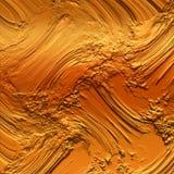 Χρυσό σχέδιο υποβάθρου λάσπης Χρυσή λάσπη που αποτυπώνεται σε ανάγλυφο στην τραχιά ετερόκλητη επιφάνεια για το δημιουργικό υπόβαθ ελεύθερη απεικόνιση δικαιώματος