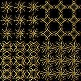 Χρυσό σχέδιο Στοκ φωτογραφία με δικαίωμα ελεύθερης χρήσης