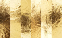 Χρυσό σύνολο σύστασης Στοκ εικόνες με δικαίωμα ελεύθερης χρήσης