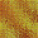 Χρυσό τετραγωνικό μωσαϊκό Στοκ φωτογραφία με δικαίωμα ελεύθερης χρήσης