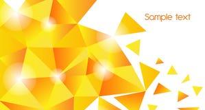 χρυσό τρίγωνο ανασκόπησης Στοκ φωτογραφία με δικαίωμα ελεύθερης χρήσης