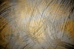 Χρυσό τσαλακωμένο τυλίγοντας έγγραφο Στοκ Φωτογραφίες