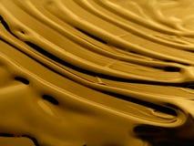 χρυσό υγρό Στοκ Εικόνες