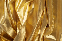 χρυσό υλικό Στοκ εικόνες με δικαίωμα ελεύθερης χρήσης