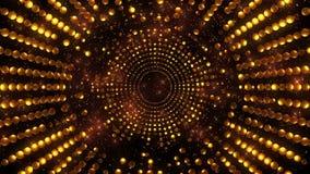 Χρυσό υπόβαθρο έκρηξης διανυσματική απεικόνιση
