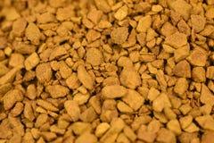 Χρυσό υπόβαθρο επίγειου καφέ Στοκ εικόνες με δικαίωμα ελεύθερης χρήσης