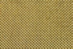 Χρυσό υπόβαθρο πλέγματος Στοκ εικόνα με δικαίωμα ελεύθερης χρήσης