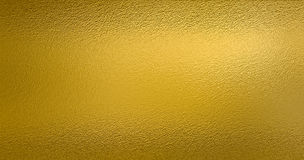 Χρυσό υπόβαθρο σύστασης φύλλων αλουμινίου Στοκ εικόνα με δικαίωμα ελεύθερης χρήσης