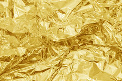 Χρυσό υπόβαθρο σύστασης Στοκ Εικόνες