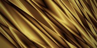 Χρυσό υπόβαθρο υφάσματος πολυτέλειας με το διάστημα αντιγράφων διανυσματική απεικόνιση