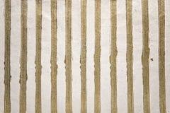 Χρυσό υπόβαθρο λωρίδων Στοκ Εικόνα