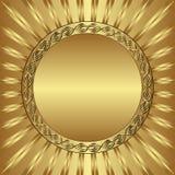 Χρυσό υπόβαθρο Στοκ εικόνες με δικαίωμα ελεύθερης χρήσης