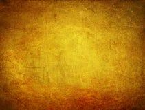 Χρυσό υπόβαθρο gunge Στοκ Εικόνα