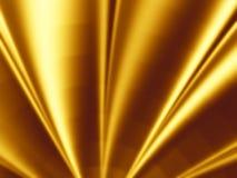 χρυσό φως επίδρασης ανασκόπησης Στοκ Εικόνες
