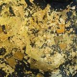 χρυσό φύλλο Στοκ εικόνα με δικαίωμα ελεύθερης χρήσης