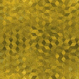 Χρυσό φύλλο αλουμινίου άνευ ραφής και σύσταση υποβάθρου πολυτέλειας Tileable Ακτινοβολώντας ζαρωμένο διακοπές χρυσό υπόβαθρο Στοκ Φωτογραφίες