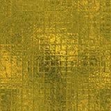Χρυσό φύλλο αλουμινίου άνευ ραφής και σύσταση υποβάθρου πολυτέλειας Tileable Ακτινοβολώντας ζαρωμένο διακοπές χρυσό υπόβαθρο Στοκ εικόνα με δικαίωμα ελεύθερης χρήσης