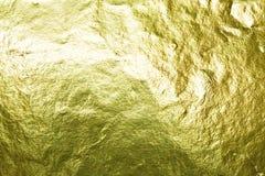 Χρυσό φύλλο αλουμινίου Στοκ φωτογραφίες με δικαίωμα ελεύθερης χρήσης