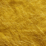 Χρυσό φύλλο αλουμινίου Στοκ Εικόνα