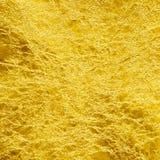 Χρυσό φύλλο αλουμινίου Στοκ Φωτογραφίες