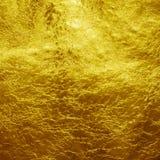 Χρυσό φύλλο αλουμινίου Στοκ φωτογραφία με δικαίωμα ελεύθερης χρήσης