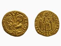 Χρυσό φλορίνι, Φλωρεντία στοκ φωτογραφία με δικαίωμα ελεύθερης χρήσης