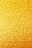 Χρυσό χρώμα στη σύσταση τοίχων τσιμέντου χρυσή σύσταση ανασκόπησης Στοκ φωτογραφίες με δικαίωμα ελεύθερης χρήσης