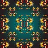 Χρυσό χρώμα υποβάθρου σχεδίων ταπετσαριών Στοκ φωτογραφία με δικαίωμα ελεύθερης χρήσης