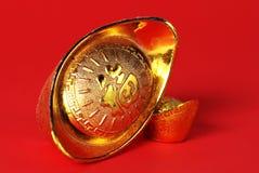 χρυσό ψήγμα Στοκ Εικόνες