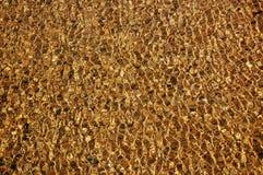 χρυσό ύδωρ σύστασης Στοκ φωτογραφίες με δικαίωμα ελεύθερης χρήσης