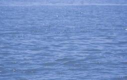 χρυσό ύδωρ επιφάνειας κυματώσεων Στοκ Εικόνες