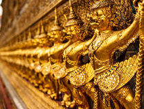 Χρυσό Garuda Στοκ Εικόνα