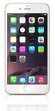 Χρυσό iPhone 6 της Apple διανυσματική απεικόνιση