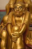 χρυσό lohan άγαλμα Στοκ εικόνες με δικαίωμα ελεύθερης χρήσης
