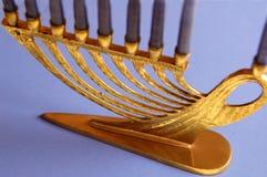 χρυσό menorah Στοκ φωτογραφία με δικαίωμα ελεύθερης χρήσης