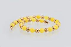Χρυσό panarama αλυσίδων για το υπόβαθρο Στοκ φωτογραφία με δικαίωμα ελεύθερης χρήσης