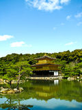 χρυσό pavillion του Κιότο kinkakuji Στοκ Φωτογραφίες