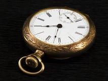Χρυσό pocketwatch Στοκ Φωτογραφία