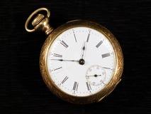 Χρυσό pocketwatch Στοκ φωτογραφία με δικαίωμα ελεύθερης χρήσης