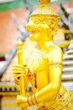 Χρυσό Scultrure στοκ εικόνες με δικαίωμα ελεύθερης χρήσης