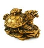 χρυσό statuette στοκ εικόνα