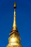 Χρυσό stupa στη γιαγιά Wat, Ταϊλάνδη Στοκ εικόνα με δικαίωμα ελεύθερης χρήσης