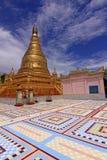 χρυσό stupa του Mandalay λόφων Στοκ Εικόνα