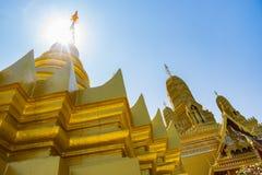 Χρυσό stupa Στοκ Φωτογραφία