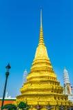 Χρυσό Stupa, Royal Palace μεγάλο παλάτι Ταϊλάνδη της Μπανγκόκ Στοκ φωτογραφία με δικαίωμα ελεύθερης χρήσης