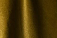 Χρυσό velour ύφασμα, υφαντικό υπόβαθρο, βελούδο, μοχέρ, κασμίρι Στοκ φωτογραφία με δικαίωμα ελεύθερης χρήσης
